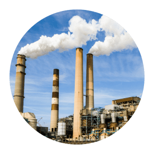 Industrial factory smoke stacks, 3D Design Concepts