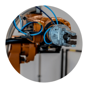 Robotic arm used in fabrication, 3D Design Concepts